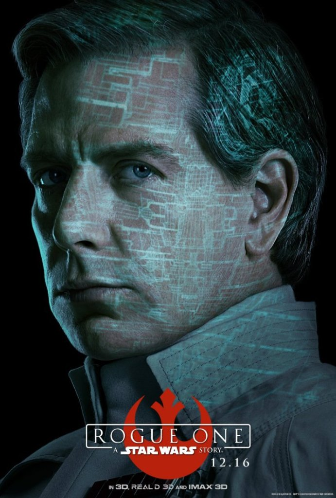Director Orson Krennic. Cruel. Brilliant. Obsessed. #RogueOne