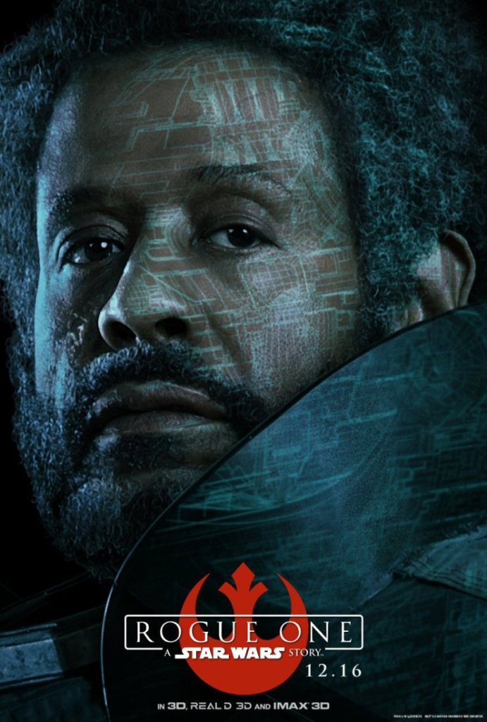 Saw Gerrera. Resolved to win the fight against the Empire. #RogueOne