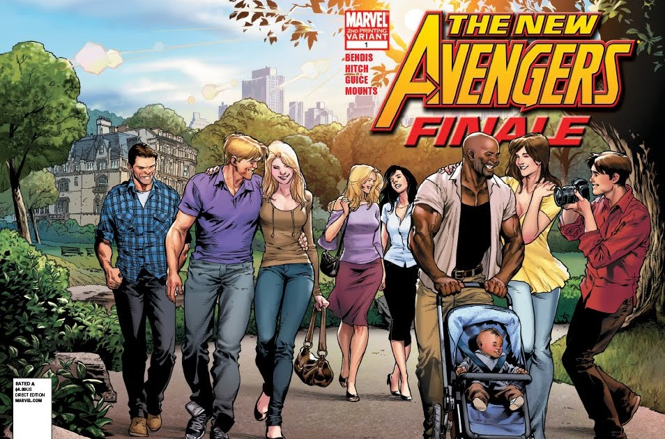 Bryan Hich Marvel New Avengers Finale # 1