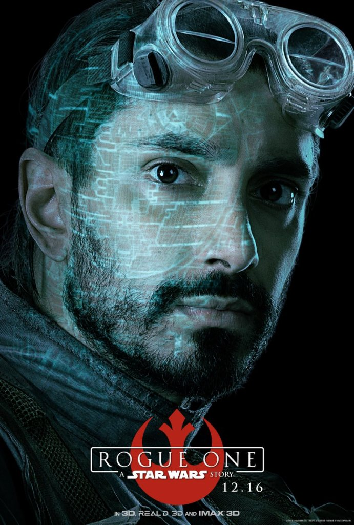 Bodhi Rook. Former Imperial pilot who's seen the light. #RogueOne