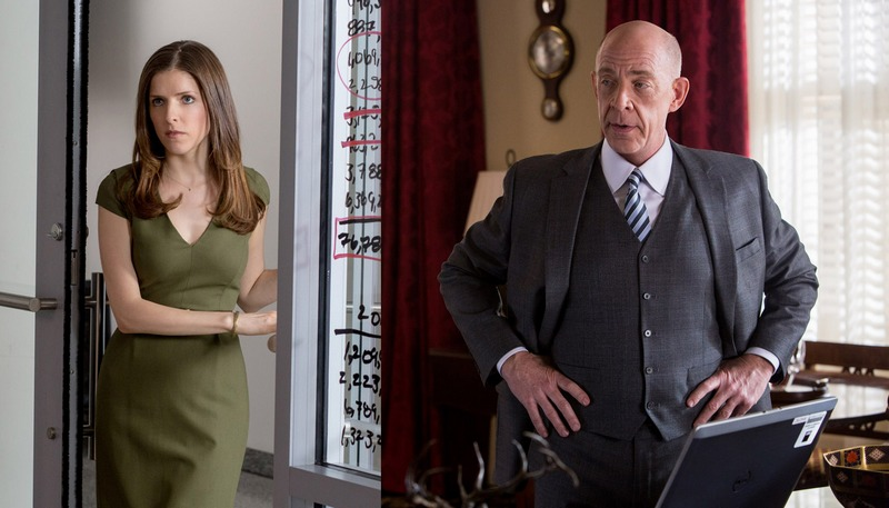 JK Simmons and Anna Kendrick