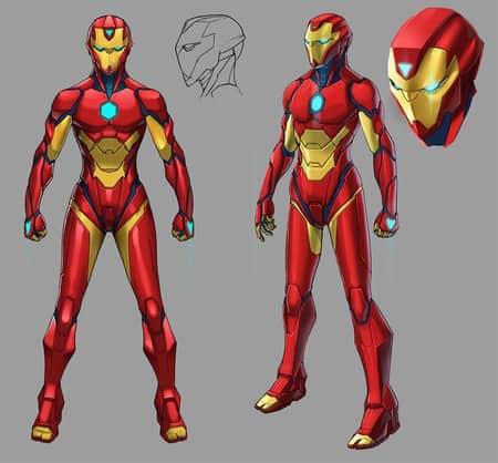 Ironheart armor invincible iron man