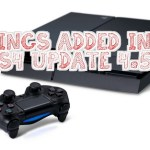 5 Things Added in for the PS4 Update 4.50