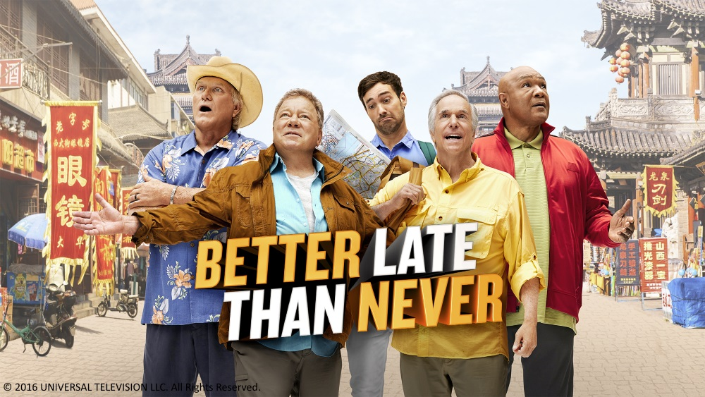 "Sony Channel to Premiere ""Better Late Than Never"""