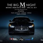 "Buddha Bar's Big M Night Unites Soul Supergroup Apartel Plus ""Dine and Drive a Maserati"" Winner to be Drawn at Event"