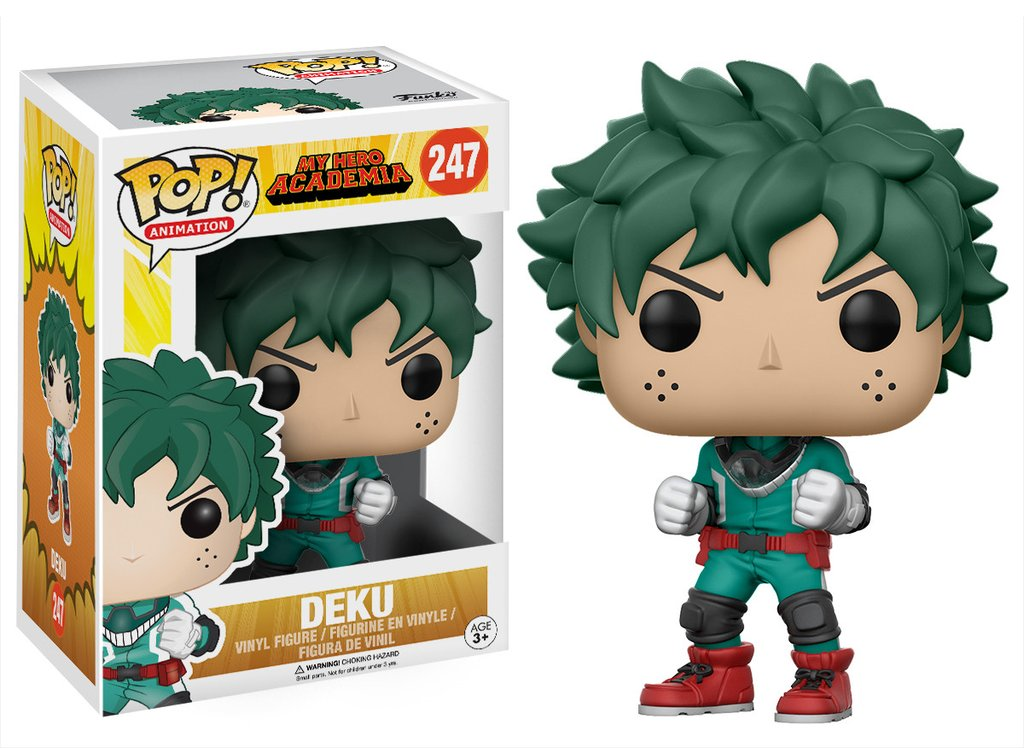 my hero academia funko pop deku