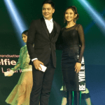 Alden Richards and Sarah Geronimo for Oppo F3 Launch