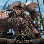 Hot Toys Captain Jack Sparrow Pirates of the Caribbean Dead Men Tell No Tales