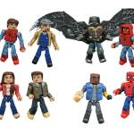 Packaged Look at Spider-Man:Homecoming Minimates Comic Shop Edition