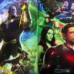 Avengers Infinity War Posters in Full