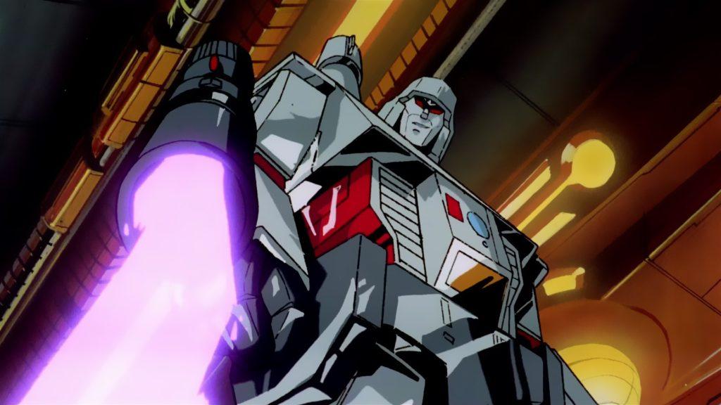 transformers the movie megatron scene