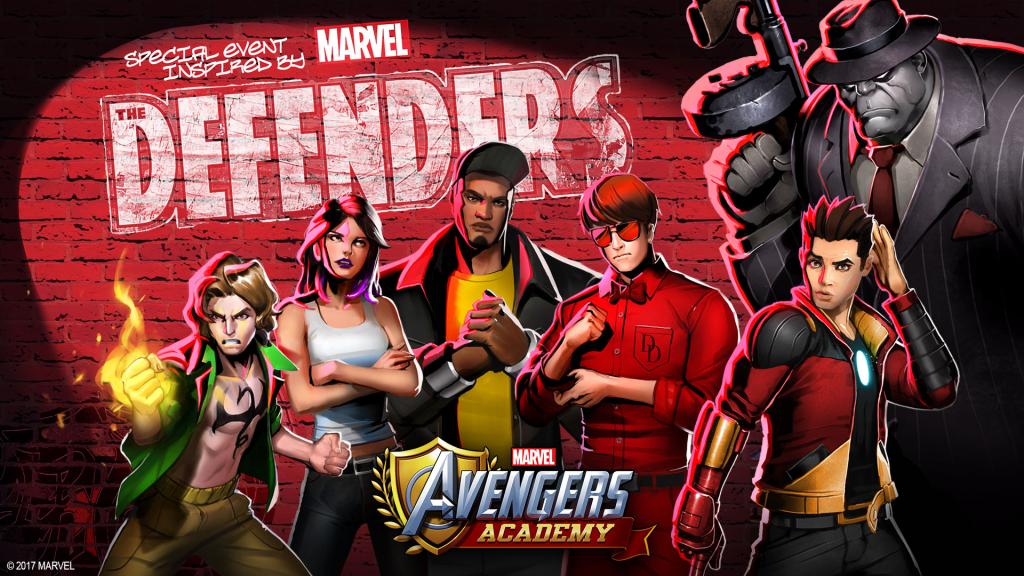 avengers academy defenders netflix august 2017