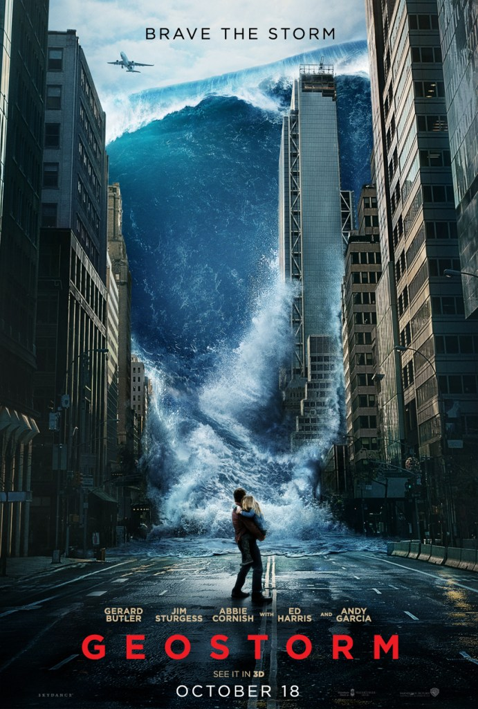 geostorm international poster