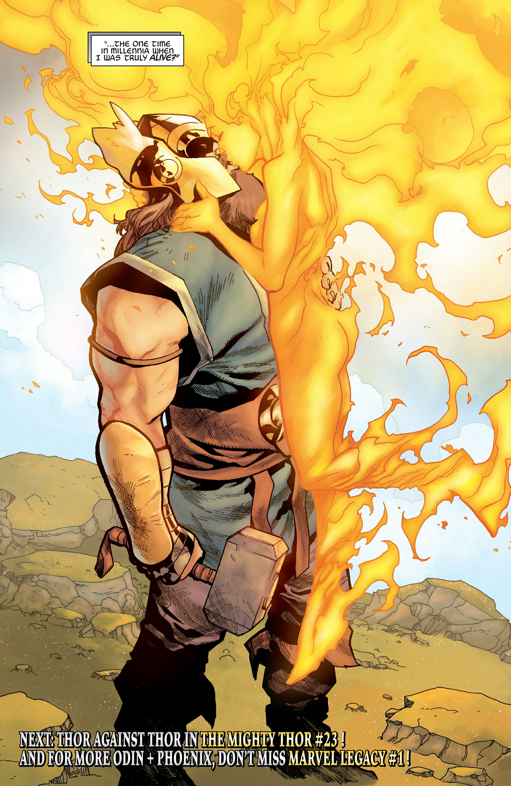 Odin and The Phoenix