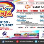 Cosplay Mania 2017 Schedule Announced!