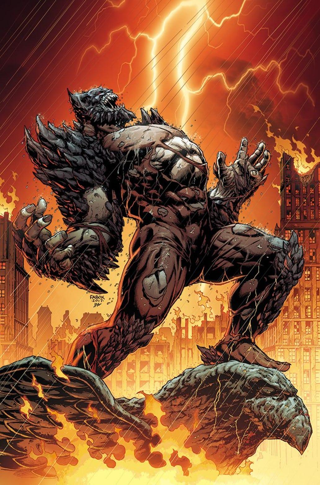 devastator doomsday batman