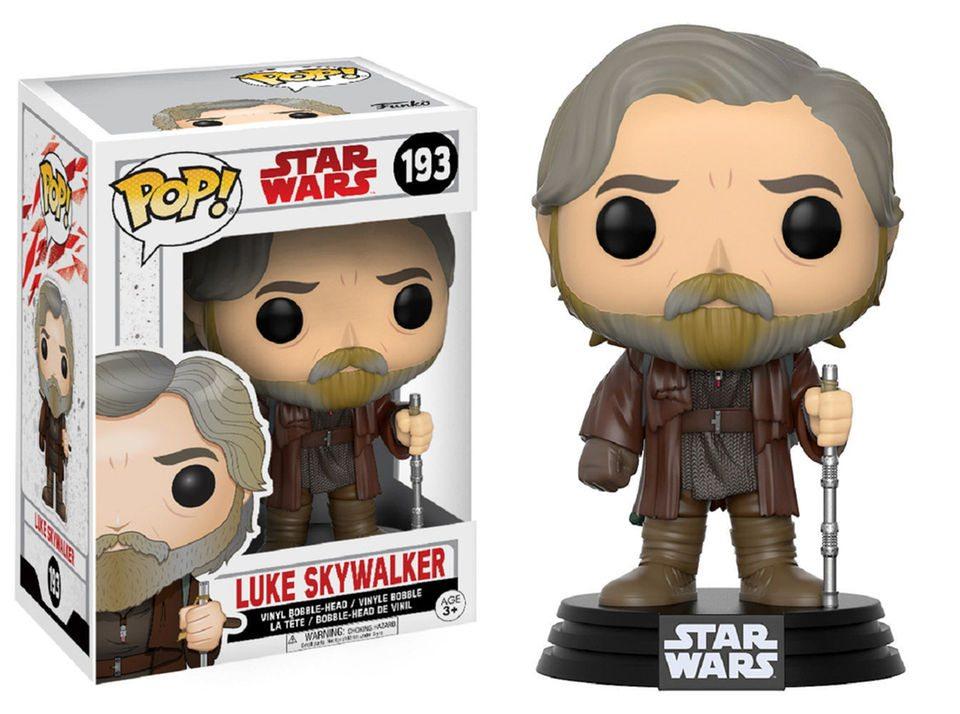 star wars the last jedi funko pop luke skywalker