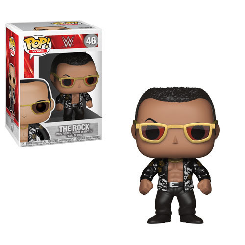 WWE funko pop the rock Regular