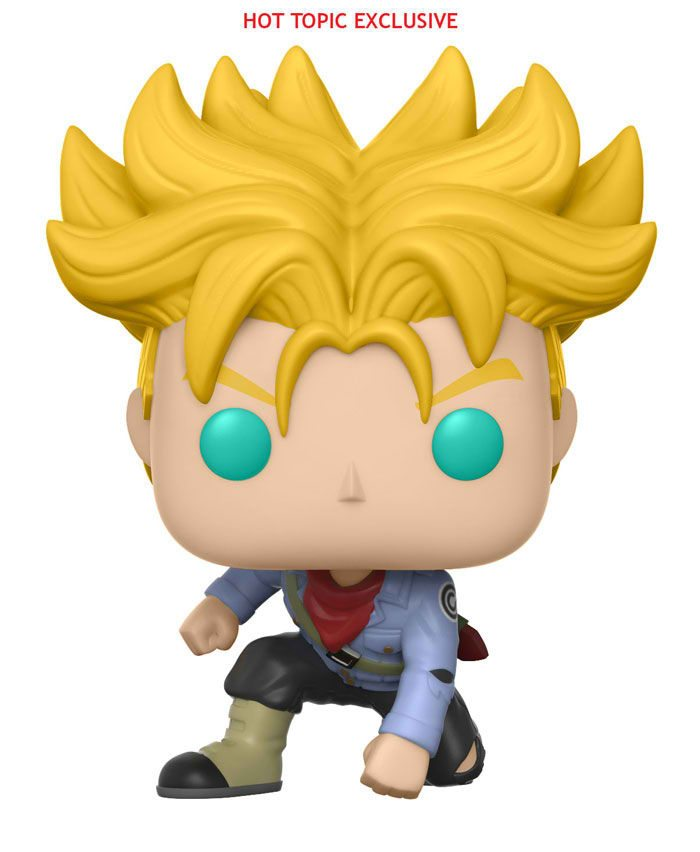 Dragon ball super funko ss trunks