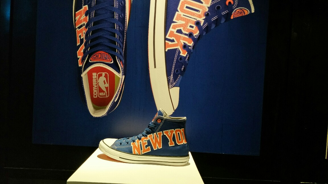 New york knicks converse x nba