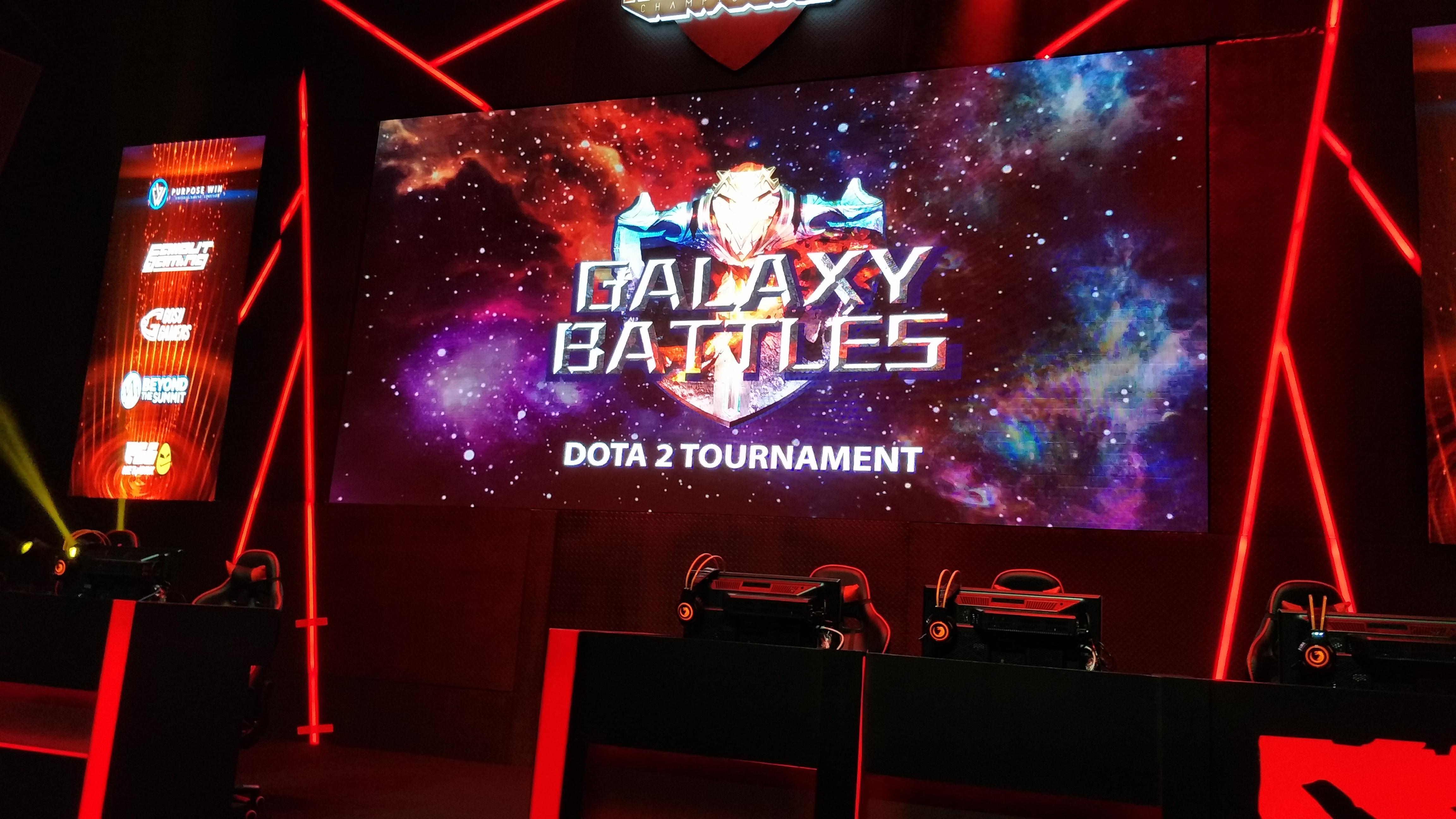 Galaxy battles press conference
