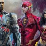 Here's a Look at the Justice League The Art of the Film from Titan Books
