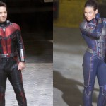 New Ant-Man and the Wasp BTS featuring Paul Rudd and Evangeline Lilly in Costume