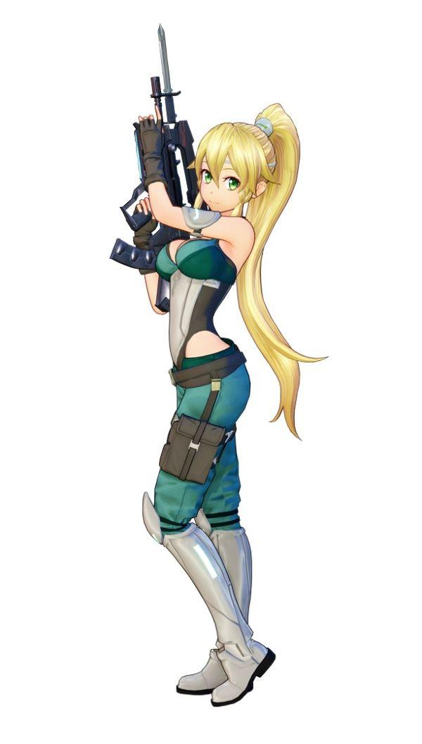 Sword Art Online Fatal Bullet PS4 Leafa