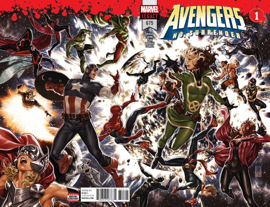 avengers no surrender jan 2018