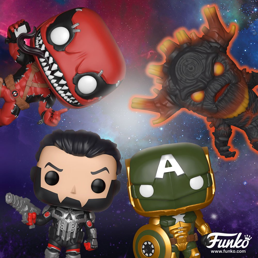 Marvel Contest Of Champions Funko Pops Announced The