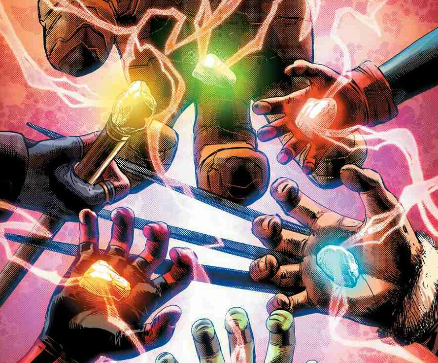 Logan, Captain Marvel, Gamora, Loki and Others Have the Infinity Stones in Infinity Countdown