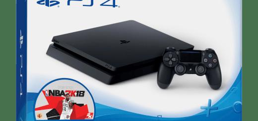 PS4 Slim NBA 2K18 Bundle