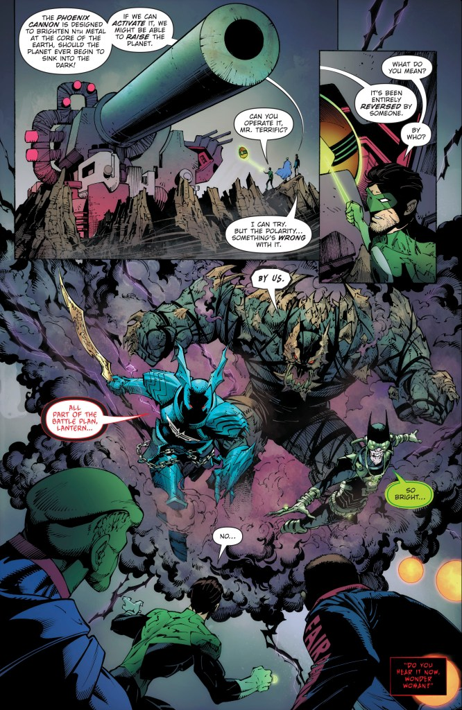 spoilers for dark nights metal # 5