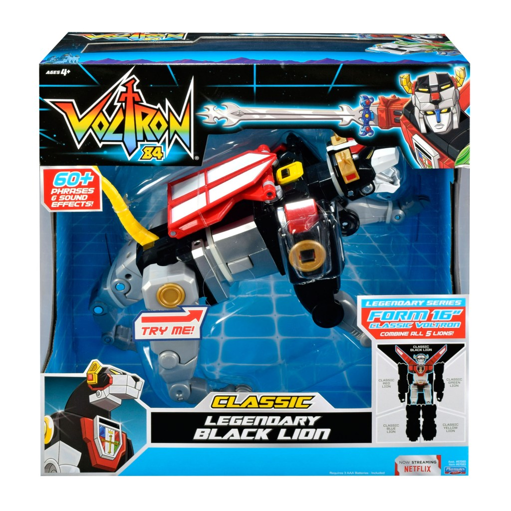 voltron classic legendary black lion