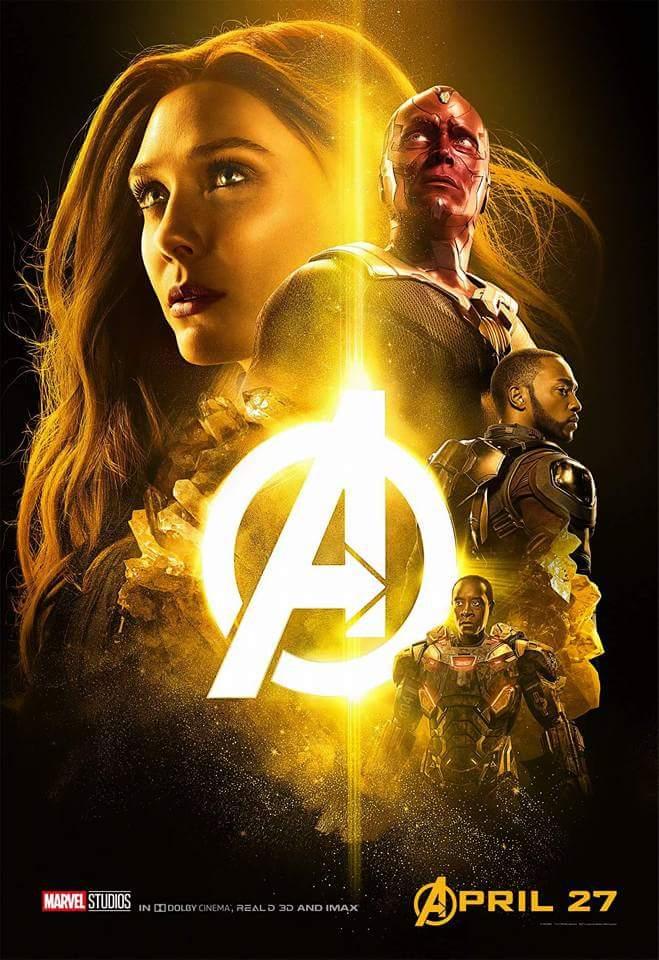 Avengers infinity war poster 5