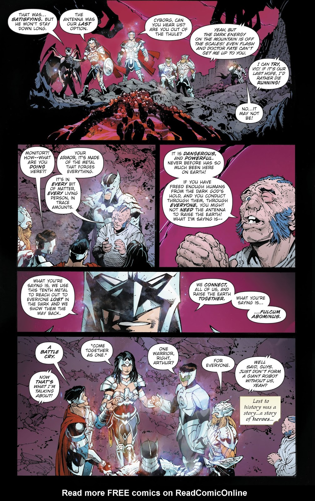 Explaining the Ending of Dark Nights: Metal - The Fanboy SEO