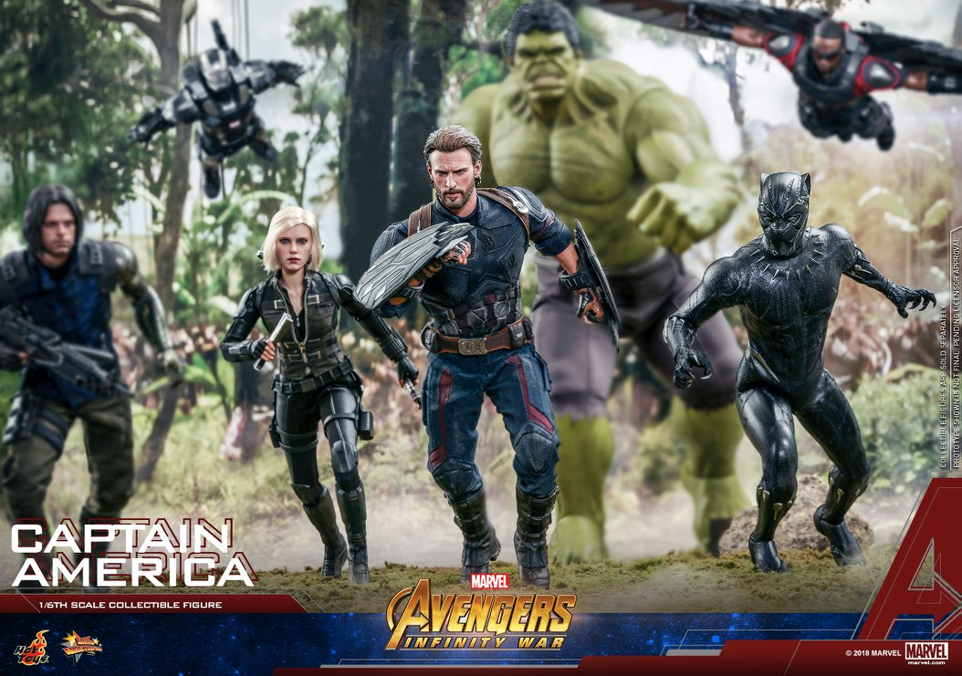 Hot Toys Avengers Infinity War Captain America has Two