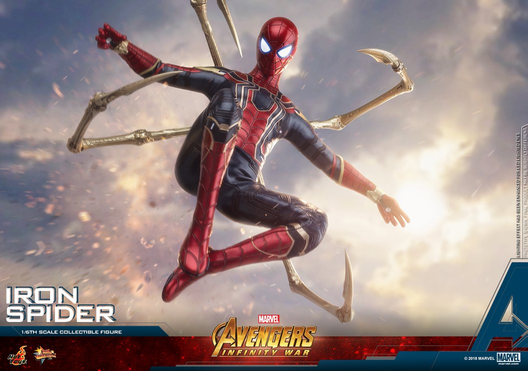 Hot Toys Iron Spider IS The One-Sixth Figure to Get!
