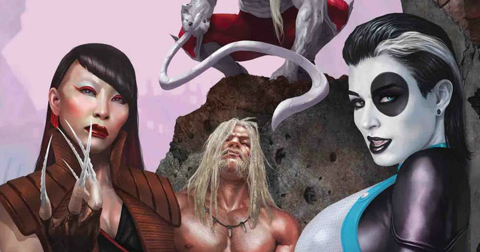 Weapon X Regroup with new Member Omega Red and New Leader Sabretooth