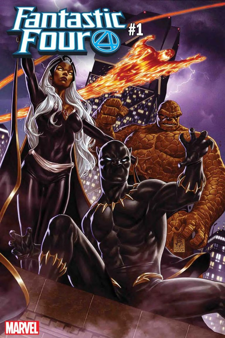 FANTASTIC FOUR #1 by Mark Brooks