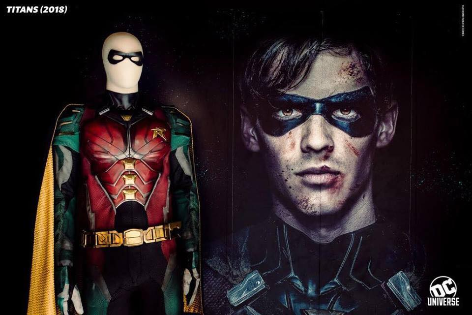 SDCC 2018 - The Titans Costumes Gets Put on Display