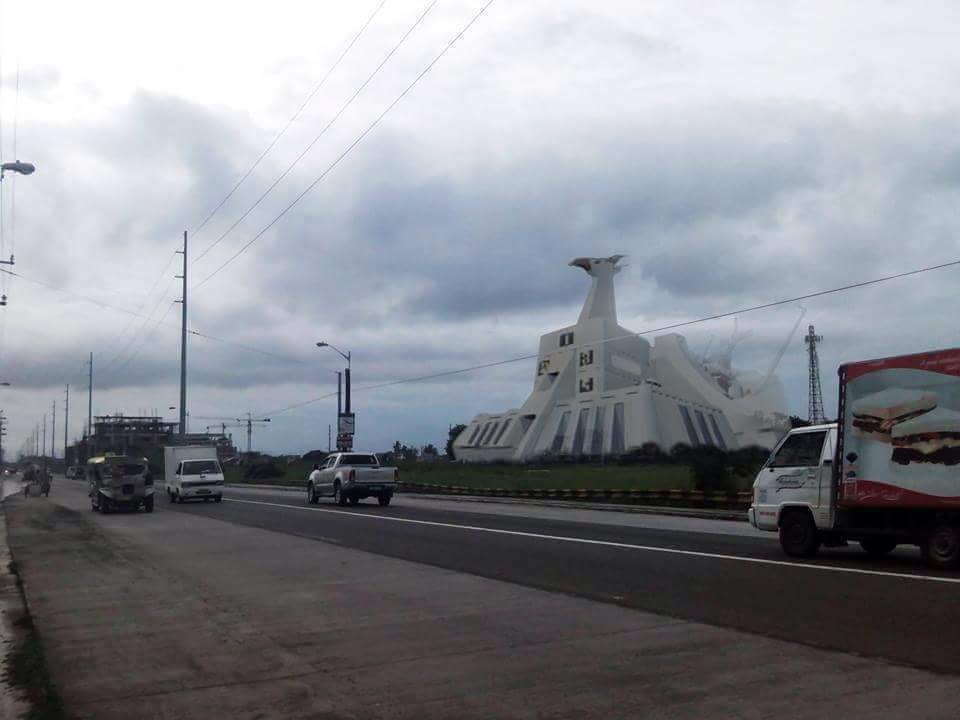 LOOK: Voltes V's HQ Camp Big Falcon spotted in Meycuayan, Bulacan