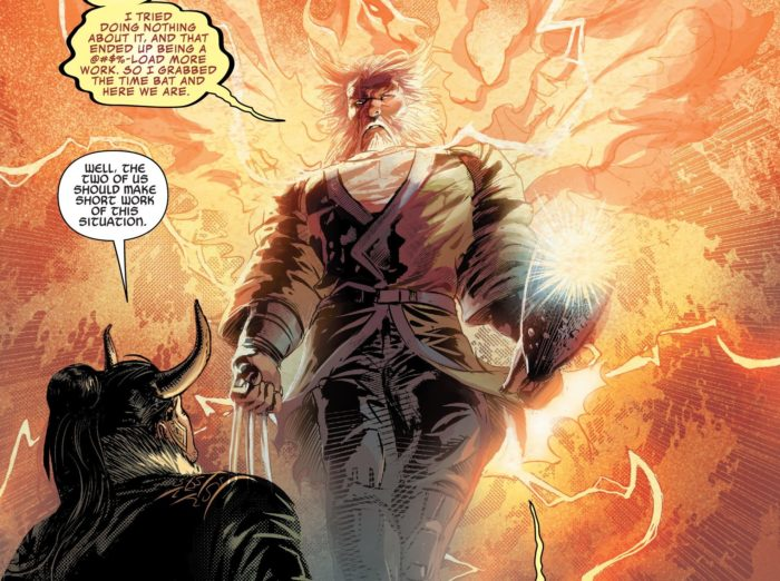 Infinity Wars # 4 Brings in Old Man Phoenix and King Thor