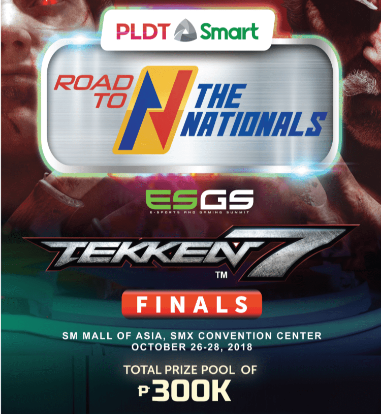 PH's top Tekken 7 players to converge at ESGS 'Road to the Nationals' finals