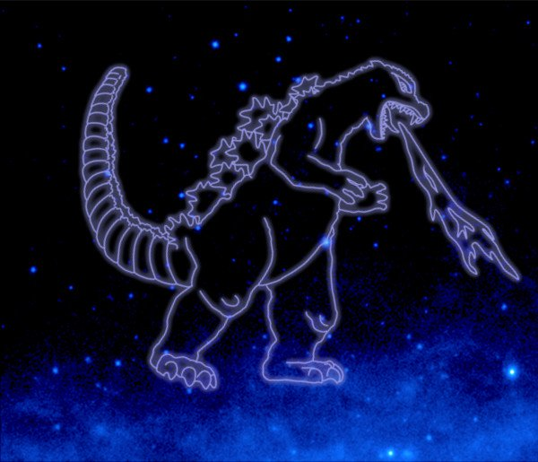 NASA Just Gave Godzilla his Own Constellation