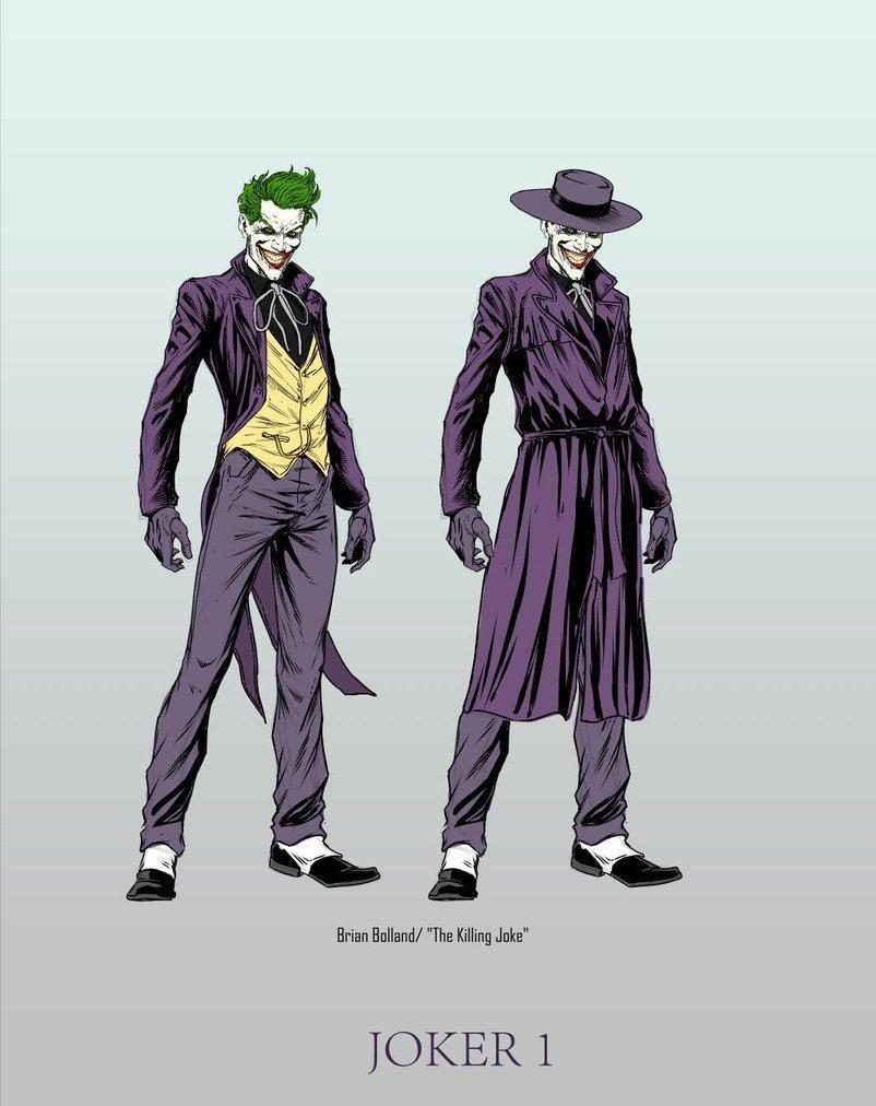 Killing Joke Joker - Three Jokers