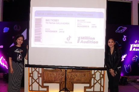 TikTok celebrates winners of first 1 Million Audition in the