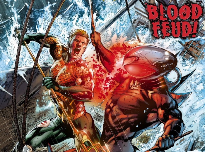 Aquaman Kills Black Manta's Father (Comics Version)