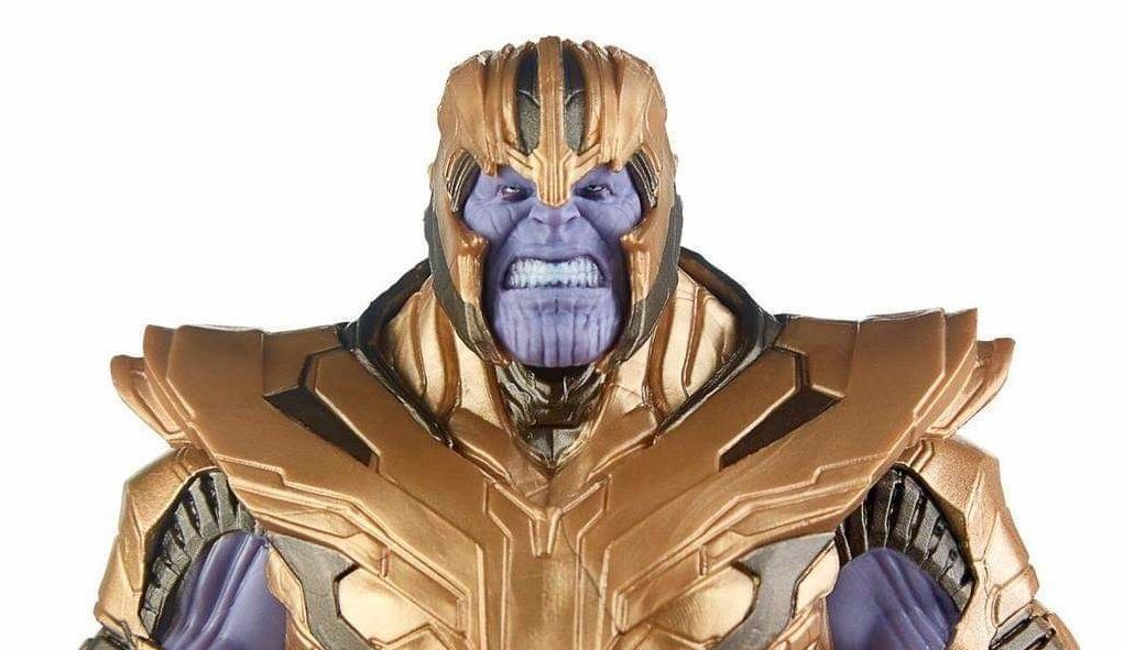 New Promotional Images for Marvel Legends Avengers Endgame Armored Thanos BAF
