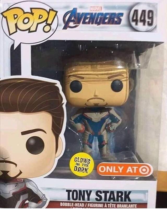Avengers Endgame funko pop tomy stark